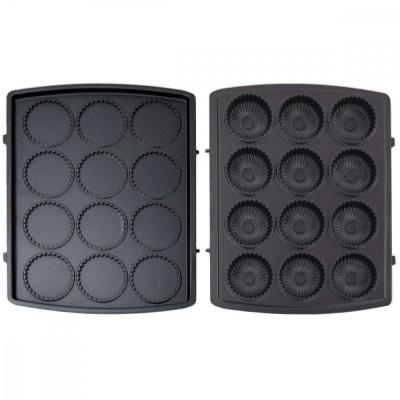 Syntrox Muffinplatten Cupcakeplatten für XXL Chef Maker ZN-2000W