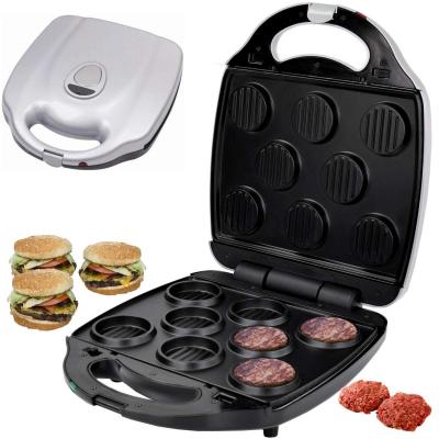 Syntrox Hamburgerplatten für XXL Chef Maker ZN-2000W