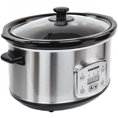Syntrox Digitaler Slow Cooker 3,5 Liter mit Timer