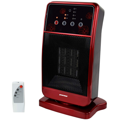 Syntrox Digitaler Heizlüfter mit Fernbedienung Schnellheizer Heizgerät