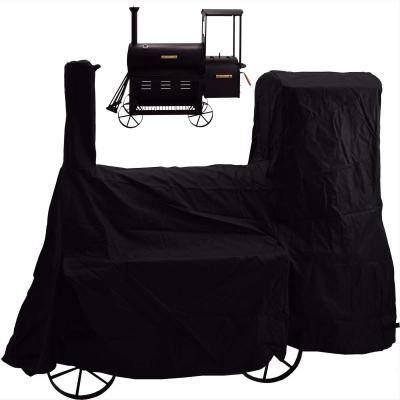 Syntrox Abdeckplane für Smoker Regenplane Abdeckung Schutzhülle 800-AP