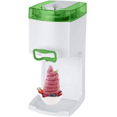 Syntrox Softeismaschine Eismaschine Frozen Joghurt Maschine 4in1 Grün