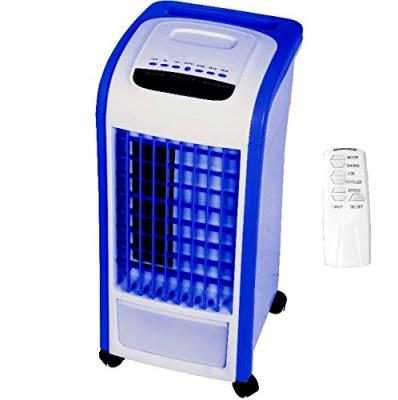 Syntrox 4 in 1 Luftkühler mit Fernbedienung Ventilator Luftbefeuchter Luftreiniger Klimagerät Blau