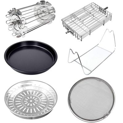 Syntrox Accessoire-Set Zubehör-Set Erweiterung für unsere Airfryer Heißluftfritteusen AF-1400W-25 / AF-1400W-23