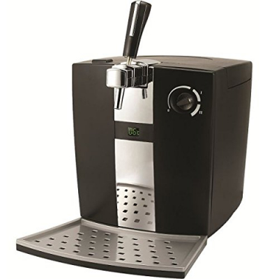 Syntrox Bierzapfanlage BC-300P mit Digitaler Anzeige sowie Pumpe für 5 Liter Bierfässer