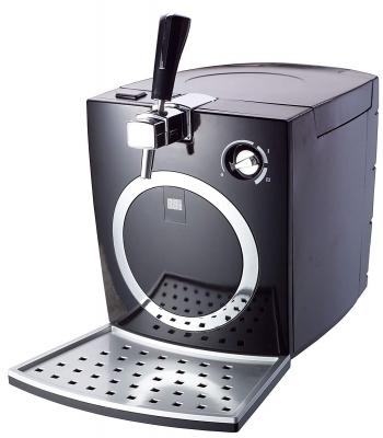 Syntrox Digitale Bierzapfanlage BC-200P mit Pumpe Bierkühler Fasskühler 5 Liter