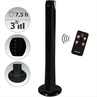 Syntrox Digitaler XXL Turmventilator mit Fernbedienung und Oszillation