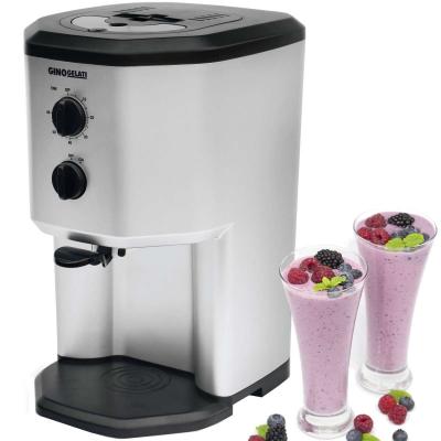 Syntrox Softeismaschine mit Kompressor- Frozen Yogurt - Milchshake Maschine - Flaschenkühler