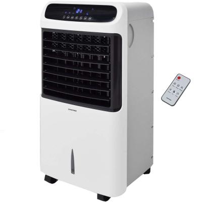 Syntrox Germany 4 in 1 Luftkühler Luftbefeuchter Lufterfrischer und Ventilator mit Touch Panel und Fernbedienung
