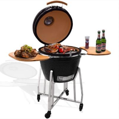 Syntrox Kamado Grill Karnado 1 Barbecue BBQ Holzkohlegrill Grillwagen Standgrill