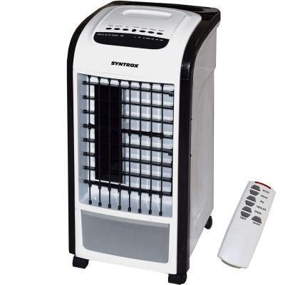 Syntrox 4 in 1 Luftkühler mit Fernbedienung Ventilator Luftbefeuchter Luftreiniger Klimagerät Schwarz