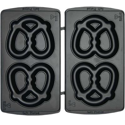 Syntrox Soft Bretzelplatten für Chef Maker SM-1300W