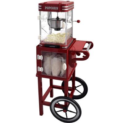 Syntrox Germany Rollwagen für Popcorn Maker Untergestell Popcornwagen für Popcorn Maker mit zwei Reifen PCM-UG Idaho