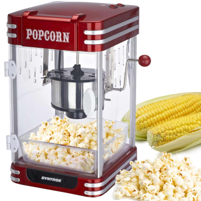 Syntrox Nostalgie Retro Popcorn Maker Popcornmaschine PCM-310 Wyoming