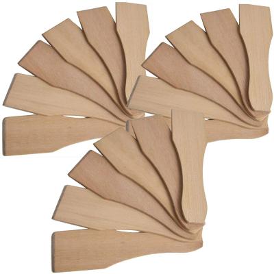 Syntrox Design Universal Holzspatel Racletteschieber Raclettesspachtel Wender 18 Stück Set