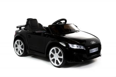 Batteriebetriebenes Elektrofahrzeug 12V Lizenziertes Audi TT RS, Schwarz