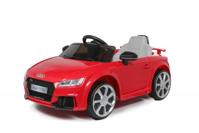 Batteriebetriebenes Elektrofahrzeug 12V Lizenziertes Audi TT RS, rot