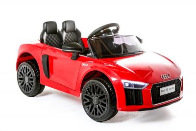 Batteriebetriebenes Elektrofahrzeug 12V Lizenziertes Audi R8 Spyder, Rot