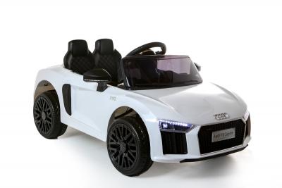 Batteriebetriebenes Elektrofahrzeug 12V Lizenziertes Audi R8 Spyder, weiß