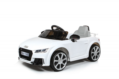 Batteriebetriebenes Elektrofahrzeug 12V Lizenziertes Audi TT RS, weiß