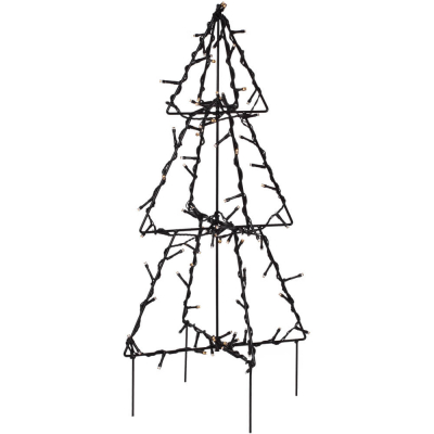 LED-Tannenbaum mit 90 warmweißen LEDs H 50 cm
