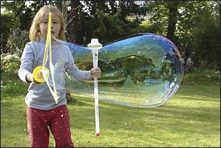Seifenblasen Schwert, Seifenblasenschwert, 54 cm