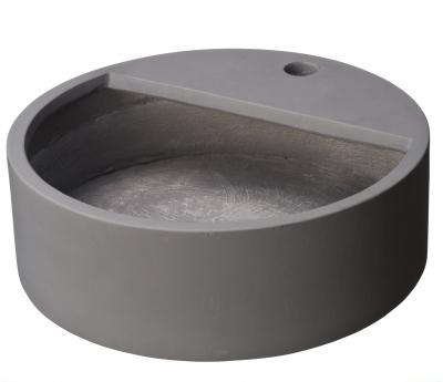 Ubbink Becken für Wasserspeier, Glasfaserbeton, H15 x Ø45 cm