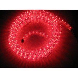 McShine LED Lichterschlauch rot 9,00 m
