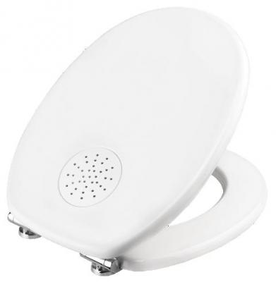 Toilettendeckel WC Deckel MDF mit Duft-Depot, Absenkautomatik APRIL FRISCH