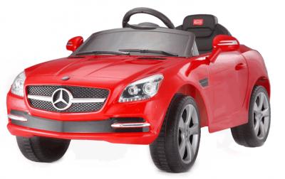 Lizenziertes - 6V Kinder Elektrofahrzeug Rot Mercedes Benz SLK 350