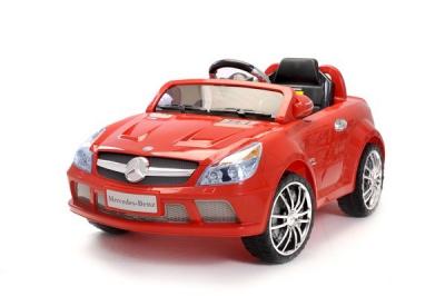 Lizenziertes - 6V Kinder Elektrofahrzeug Rot Mercedes Benz SL65 AMG
