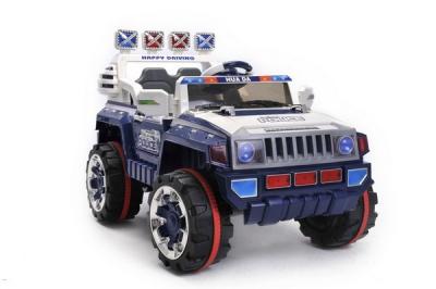 Jeep 4 X 4 Mit öffnenden Türen Blau - 12V Kinder Elektrofahrzeug