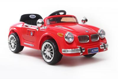 Kinder Elektrofahrzeug Classic Roadster 12V Rot