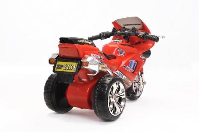 Kinder Elektrofahrzeug Motorrad Sport Rot - 6V