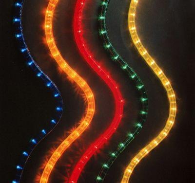 Hellum Flexlicht 44m gelb innen+aussen