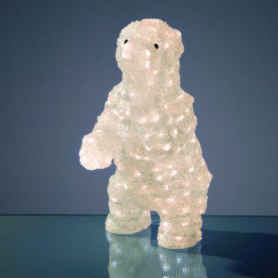 Hellum LED-Eisbär stehend 200 BS warmweiß außen