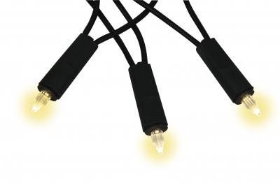 LED Lichterkette Kerzen für Innen 7 Meter warmweiß