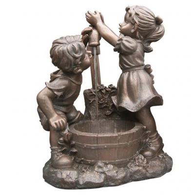 Ubbink Memphis - Wasserspiel Kinder am Brunnen