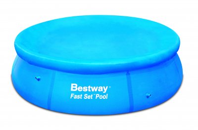Bestway Abdeckplane für Fast Set Pool Ø 244 cm