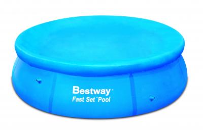 Bestway Abdeckplane für Fast Set Pool Ø 305 cm