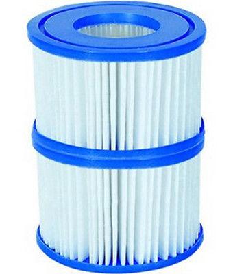 2 x Filterkartuschen Größe VI für Lay-Z-Spa Whirlpool, 10,60  x 8,0 cm