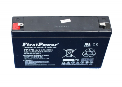 Ersatz-Batterie 6V, 6.7Ah Blei-Akku Für Autos Art 618K 618R 618B 618Y