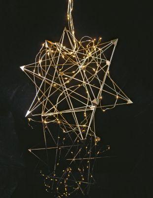 3D-Metallstern zum Zusammenstecken 50 BS