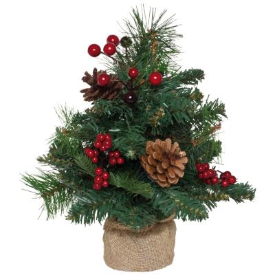 Weihnachtsbäumchen 30 cm mit Tannenzapfen