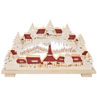 Schwippbogen, Weihnachtsleuchter, Seifener Dorf
