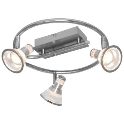 Strahler, Rondell, 3 x LED/230V/5W, 330 mm