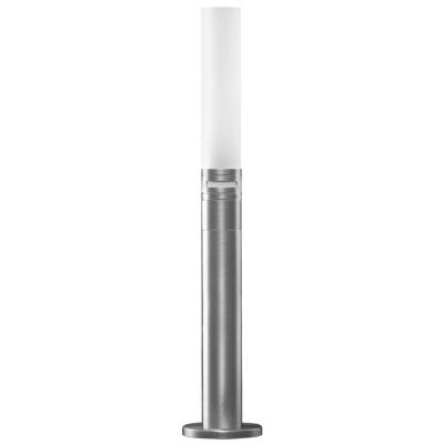 Steinel Außenstandleuchte, GL60 LED, 1 LED/E27/8,6W Edelstahl mit Sensor