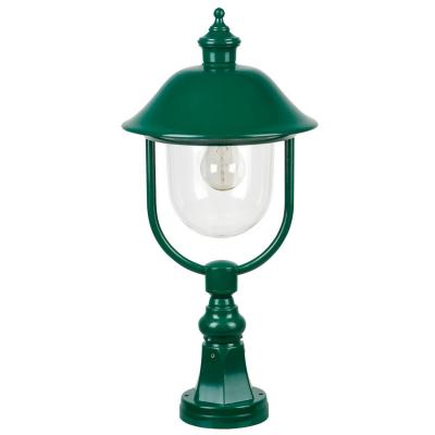 Landa Laterne Leuchte Außenstandleuchte Außensockelleuchte, 1 x E27/100W grün 54cm