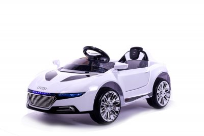 Batteriebetriebenes Elektrofahrzeug 12V Weiß V8 Roadster