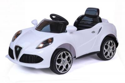 Batteriebetriebenes Elektrofahrzeug 12V Weiß 4C Roadster